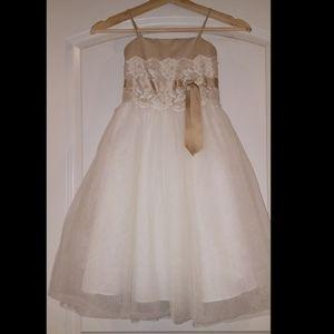 Little Girls Dress from David's Bridal size 3
